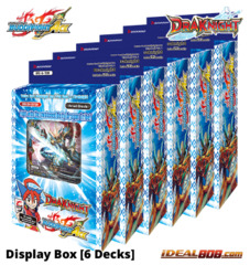 BFE-S-TD01 Draknight (English) Future Card Buddyfight Ace Trial  Deck Display Box [6 Decks]