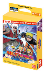 NB-04 Naruto Boruto Card Game: Master and Pupil Set - Chrono Clash System [54 Cards]