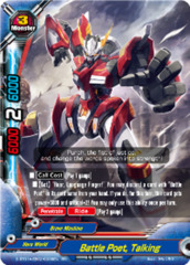 Battle Poet, Talking [D-BT01A-EB02/0006EN RR (FOIL)] English