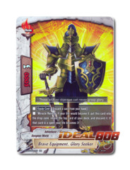 Brave Equipment, Glory Seeker - BT03/0020EN (RR) Double Rare