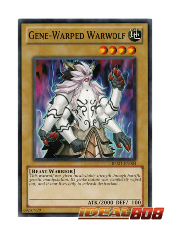 Gene-Warped Warwolf - DEM1-EN004 - Common
