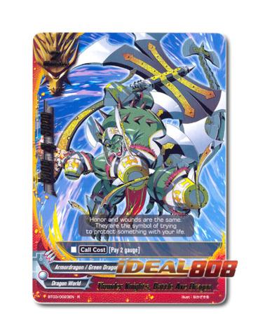 Thunder Knights, Battle Axe Dragon - BT03/0023EN (R) Rare