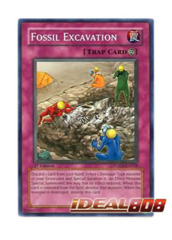 Fossil Excavation - POTD-EN058 - Common - 1st Edition