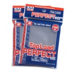 KMC Card Barrier Large Series (100ct) Inner Sleeves - Clear [02000]