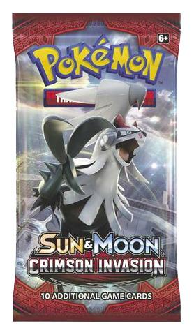 SM Sun & Moon - Crimson Invasion (SM04) Pokemon Booster Pack
