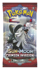 SM Sun & Moon - Crimson Invasion (SM04) Pokemon Booster Pack