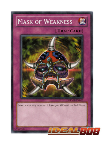 Mask of Weakness - DEM1-EN016 - Common