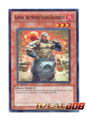 Kayenn, the Master Magma Blacksmith - Super - HA05-EN012 (Unlimited)