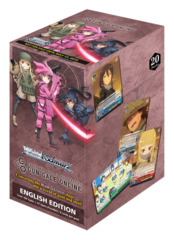 Sword Art Online Alternative : Gun Gale Online (English) Weiss Schwarz Booster Box [20 Packs]