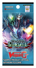 CFV-G-EB03 The GALAXY STAR GATE (English) Cardfight Vanguard G-Extra Booster Pack