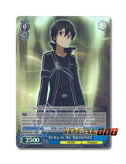 Kirito in the Battlefield [SAO/S20-E079R RRR (Foil)] English
