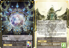 Arla, Guardian of the Skies // Memoria of the Seven Lands [BFA-094 R (Full Art Ruler)] English