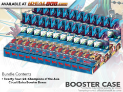 CFV-V-EB02 Champions of the Asia Circuit (English) Cardfight Vanguard V-Extra Booster  Case [24 Boxes]