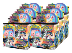 SM Sun & Moon - Cosmic Eclipse (SM12) Pokemon Booster  Case [6 Boxes] * PRE-ORDER Ships Nov.01