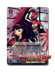 Yukiko & Konohana Sakuya [P4/EN-S01-056S SR (FOIL)] English