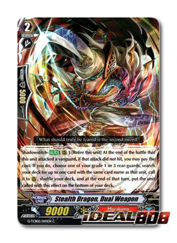 Stealth Dragon, Dual Weapon - G-TCB02/045EN - C