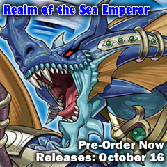 Realm of the Sea Emperor Structure Deck Box 8ct (1st Edition)