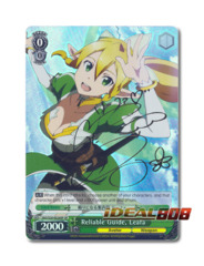 Reliable Guide, Leafa [SAO/S20-E028SP SP (SIGNED FOIL)] English