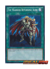 The Warrior Returning Alive - SR02-EN032 - Common - 1st Edition