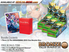 Cardfight Vanguard G-EB02 Bundle (A) Bronze - Get x3 The AWAKENING ZOO Booster Box + FREE Bonus Items * PRE-ORDER Ships Jan.26