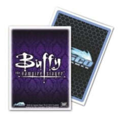 Dragon Shield Standard-size (100ct) Sleeves - Art Buffy Crest