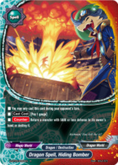 Dragon Spell, Hiding Bomber [D-BT03/0050EN R (FOIL)] English
