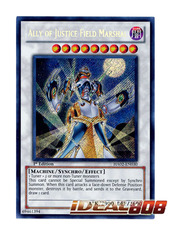 Ally of Justice Field Marshal - HA02-EN030 - Secret Rare - 1st Edition