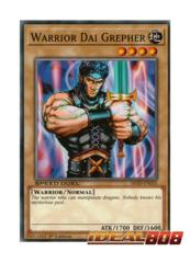 Warrior Dai Grepher - SBAD-EN035 - Common - 1st Edition