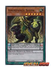 Amorphage Sloth - FIGA-EN056 - Super Rare - 1st Edition