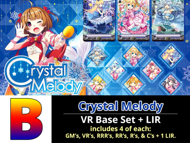 # Crystal Melody [V-EB11 ID (B)] LIR + VR Bermuda Triangle Base Set [4 of each VR's, RRR's, RR's, R's, & C's + 1 LIR (189 Cards)