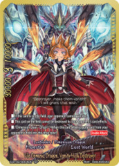 Vile Demonic Dragon, Vanity Husk Destroyer [S-BT02/S004EN SP (GOLD FOIL)] English