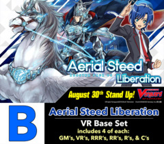 # Aerial Steed Liberation [V-BT05 ID (B)] VR Base Set [4 of each VR's, RRR's, RR's, R's, & C's]