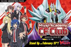CFV-V-BT03 Miyaji Academy CF Club (English) Cardfight Vanguard V-Booster  Case [20 Boxes] * PRE-ORDER Ships Feb.15