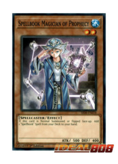 Spellbook Magician of Prophecy - SR08-EN018 - Common - 1st Edition