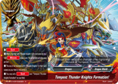 Tempest Thunder Knights Formation! [X2-BT01A-SP/0029EN R (Parallel FOIL)] English