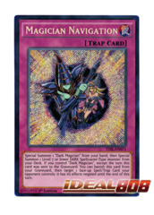 Magician Navigation - TDIL-EN071 - Secret Rare - 1st Edition