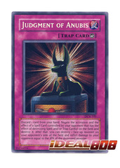 Judgment of Anubis - DCR-105 - Secret Rare - 1st Edition