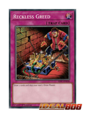 Reckless Greed - SDPL-EN038 - Common - 1st Edition