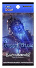 DB-BT04 Surge of Titans (English) Dragoborne Booster Pack * PRE-ORDER Ships Jun.29