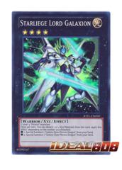 Starliege Lord Galaxion - JOTL-EN050 - Super Rare - 1st Edition