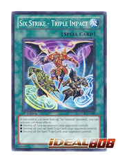 Six Strike - Triple Impact - STOR-EN049 - Common - 1st Edition