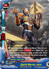 Eight Warrior, Acht [D-BT01A-EB02/0009EN RR (FOIL)] English