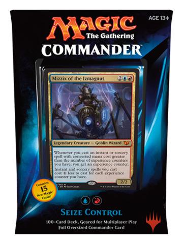 Commander 2015: Seize Control (Blue/Red) feat. Mizzix of the Izmagnus