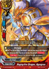 Raging-fire Dragon, Agnagras [D-BT02/0009EN RR (FOIL)] English