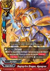 Raging-fire Dragon, Agnagras [D-BT02/0009EN RR (FOIL)] English