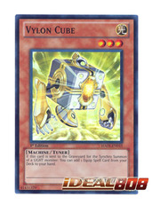 Vylon Cube - HA05-EN015 - Super Rare - 1st Edition