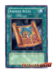 Ancient Rules - CP07-EN019 - Common - Unlimited Edition
