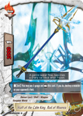 Staff of the Calm King, Rod of Miserea [D-BT04/0096EN C] English