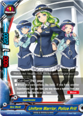 Uniform Warrior, Police Frill [D-BT04/0042EN R (FOIL)] English
