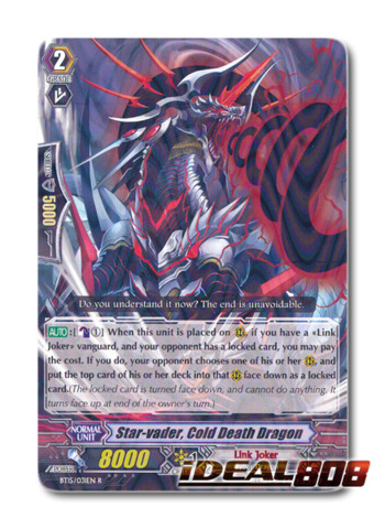 Star-vader, Cold Death Dragon - BT15/031EN - R
